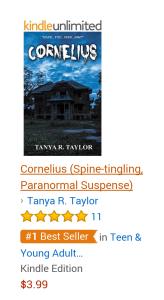 #1 cornelius with Amazon award