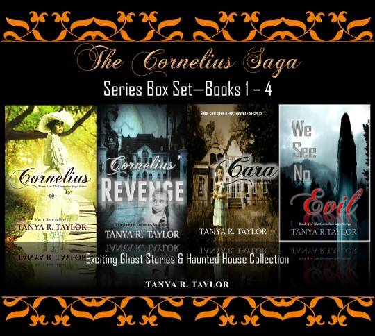 Cornelius series box set books 1-4