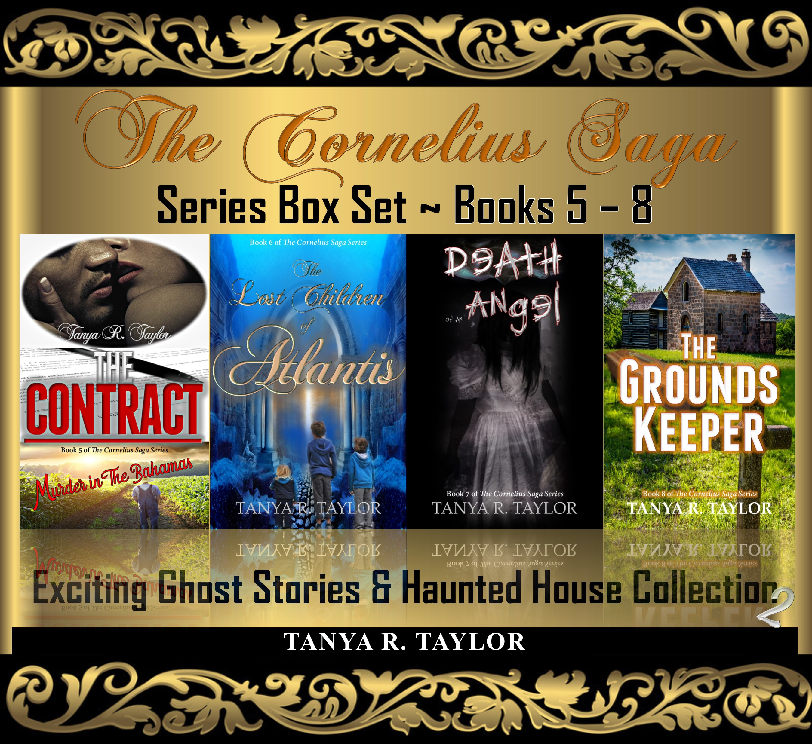 Cornelius series box set books 5-8 LGR